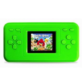 RS-28 Portable Handheld Game Player with 2.4 Inch LCD Screen Builtin 298 classic fun game for Child(green)