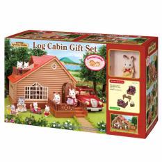 Sylvanian Families Log Cabin Gift Set