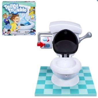 Toilet Trouble Learning Toy for Kids (White)