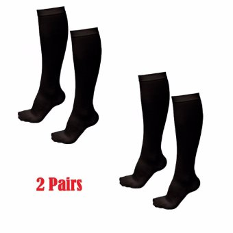 2pairs Varicose Vein Anti-fatigue Miracle Compression Socks #0270