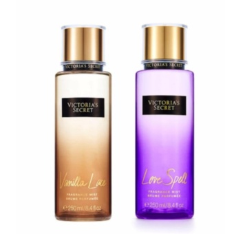 Best Selling Victoria's Secret Mists Bundle- Vanilla Lace &Love Spell 250ml