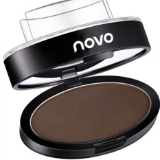 Brow Powder Definition Stamp Makeup Cosmetic Palette Brown Eyebrow Enhancer - intl Philippines
