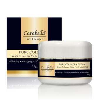 Carabella Pure Collagen Cream to Powder Matte Finish with SPF30 15g