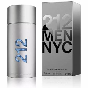 Carolina Herrera 212 MEN NYC (US Tester) Eau De Toilette Perfumefor Men 100ml