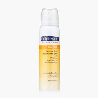 Celeteque DermoScience Sun Care Face and Body Sun Defense Spray 100 mL