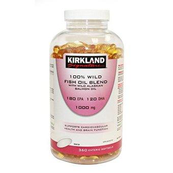 Kirkland signature 100 wild fish oil blend with wild for Kirkland fish oil reviews