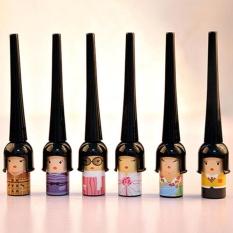 Liquid Eyeliner Cute Doll Cosmetic Waterproof Black Elastic Waterproof Gift - intl Philippines