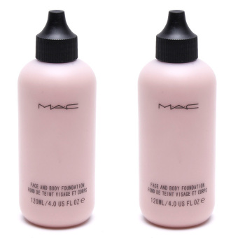 MAC Face and Body Foundation 120ml Set of 2 NC3