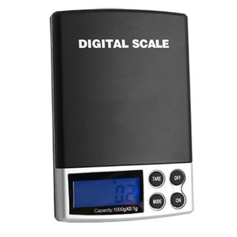 Mini Digital Scale Precision Weighing 1000g Lcd Display PocketElectronic Scale