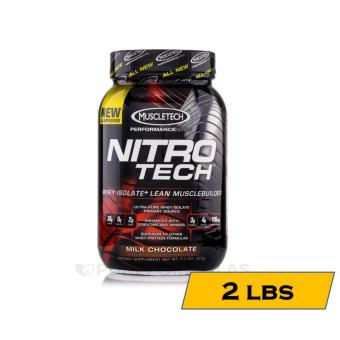 MuscleTech Nitro-Tech Performance Series Muscle Building Whey Protein Shake - 2lbs - Milk Chocolate