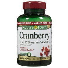 Nature S Bounty Cranberry Plus Vitamin C  Liquid Softgels