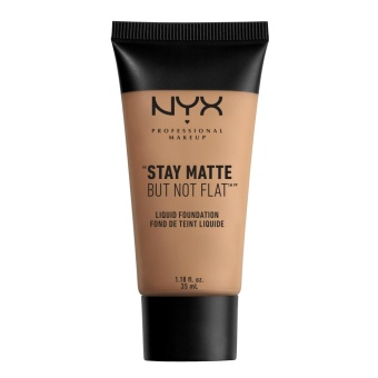 NYX Professional Makeup SMF10 Stay Matte But Not Flat Liquid Foundation - Caramel
