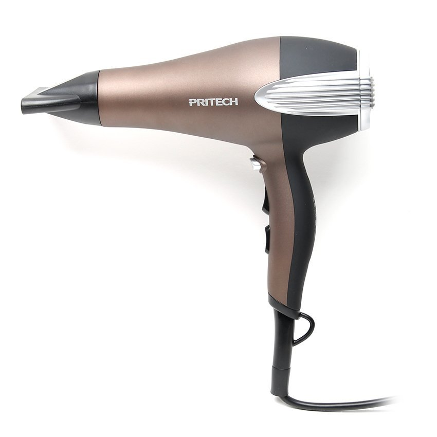 1238b Hair Dryer Salon Compact Violet With Free Zf 2002