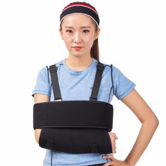 (Small)Orthopedic Medical Arm sling Shoulder immobilizer WristElbow Rotator Cuff Support for Broken Arm Brace with ComfortPadding - intl
