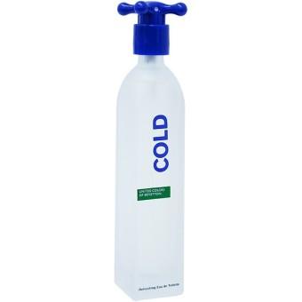United Colors of Benetton Cold Eau de Toilette for Men 100ml (Old Packaging)