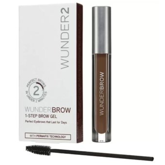 WUNDER2 Wunderbrow Perfect Eyebrows Brow Gel (Black/Brown)