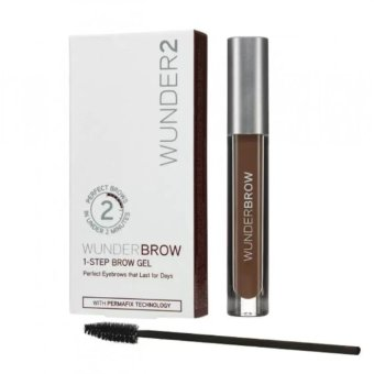 WUNDER2 Wunderbrow Perfect Eyebrows Brow Gel - Brunette