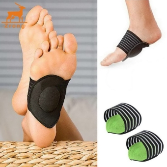 Zrong Unisex Foot Heel Pain Relief Arch Support Shoes InsertPlantar Fasciitis Insole Pads - intl