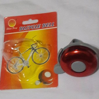 Bicycle Bell for safety protection easy to install color Red