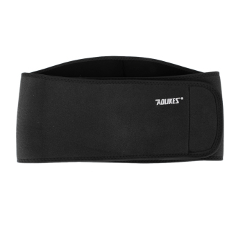 Lumbar Back Support Exercise Belts Brace Pain Relief Black