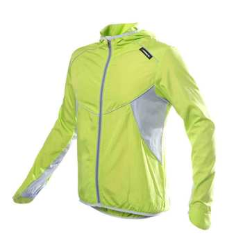 Men Women Sports Jersey Running Cycling Bicycle Windproof Sleeve Coat Jacket Clothing Hooded Casual Water-resistant