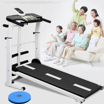 Multifunction Gym Home magnetic manual Treadmill ,Twisting + Sit UpExercise