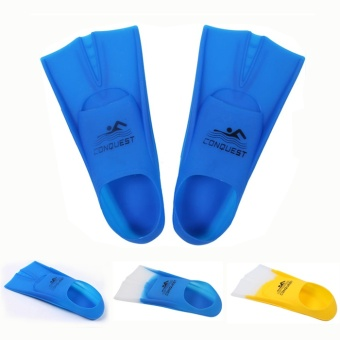 Stroke Lu Cheng people children's swimming training silicone flippers