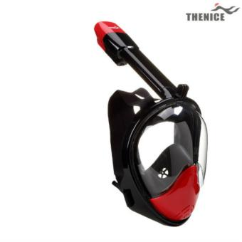 Thenice V2 Fullface Easybreath Snorkel Diving Mask L/XL