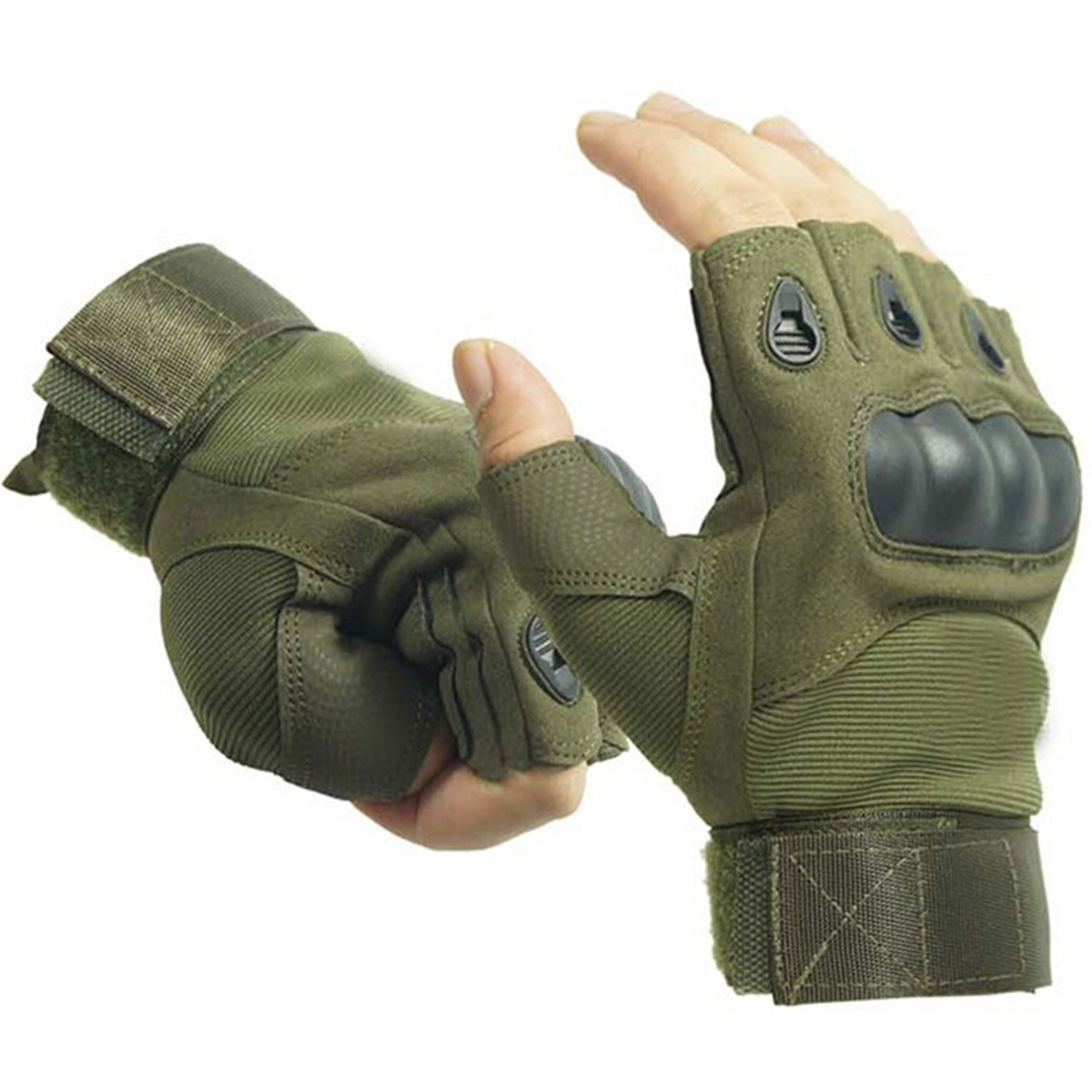 Fingerless gloves hunting - Vococal Outdoor Hunting Cycling Motorcycle Driving Tactical Fingerless Gloves Xl Army Green Lazada Ph
