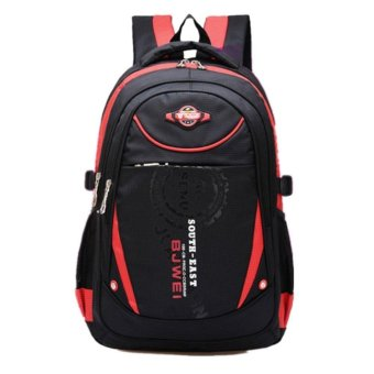 Waterproof School Bag Durable Travel Camping Backpack for Boys and Girls - intl