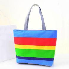 ... Embossing Nubuck Leather Single Shoulder Bag Source · 360DSC Hennes Stripe Portable Bags Canvas Bags Fashion Arder Single Shoulder Bags Blue Stripe Intl