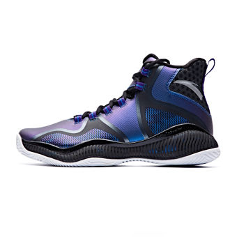 ANTA men KT team hight-top shoes basketball shoes (Jiang Zi (flourescent)/Black/ANTA white-9)