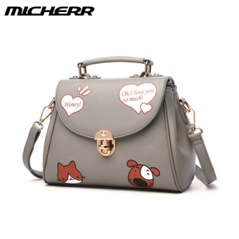 Autumn and Winter New style shoulder bag (Fashion gray)