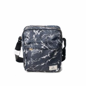 BENCH- BGM0601BK3 Printed Sling Bag (Black)
