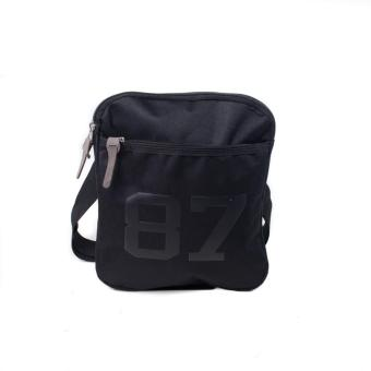 BENCH- BGM0626BK3 Meduim Sling Bag (Black)