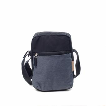 BENCH- BGM0644DB4 Men's Meduim Sling Bag (Dark Denim Blue)