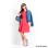 Blacksheep Skater Dress With Regular Sleeves (Red)