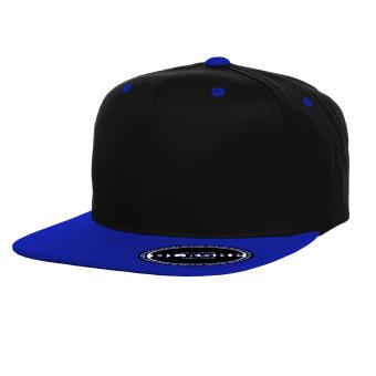 Blkshp Contrast Color Snapback Black Royalblue Lazada Ph