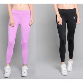BUY 1 TAKE 1 Outperformer Casual Yoga Leggings with Extra Stretch and Dryperform (Exotic Bloom and Limo Black)
