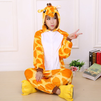 CatWalk Giraffe Adult Unisex Pajamas Cosplay Costume OnesieSleepwear S-XL (Yellow)  sc 1 st  Online Prices Philippines Online Market August 2018 & Buy Carters Costume Giraffe 6 9 Mos For Shopping - Info Price And ...