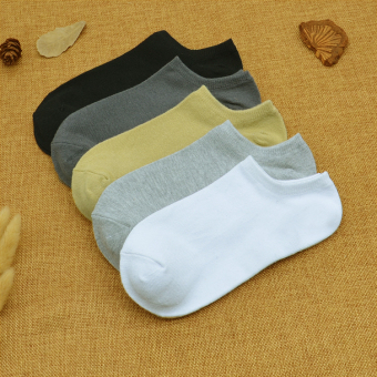 Cotton men low-top Socks (Combination of 8)