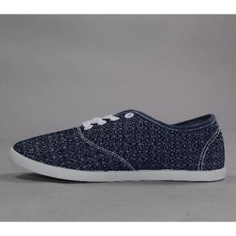 Crissa Steps Dia Laced-up Shoes (Blue)