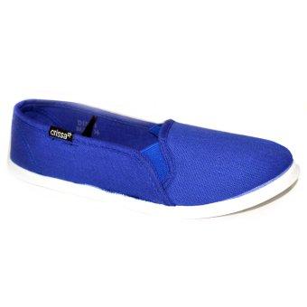 Crissa Steps Dindi Slip-Ons (Blue)