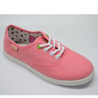 Crissa Steps Laced-up shoes (Pink)