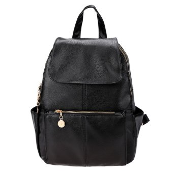 Cyber Girls Womens Travel Artificial leather Backpack Shoulder Bag ...