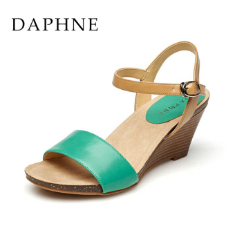 Daphne word buckle sandals women's shoes