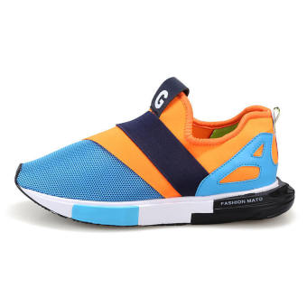 Fashion Colorful Men Low Cut Sneakers - picture 2