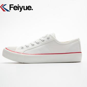Feiyue shoes canvas shoes restoring ancient ways Low classic for men's and women's shoes(White) - intl