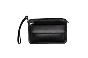 Hickok 37095 Clutch Bag with Gun Holder (Black)