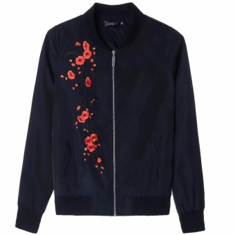 High Quality Elegant Casual Zippered Jacket for Women